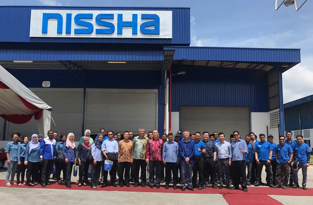 Official Opening Ceremony Of Nissha Flooring Industries