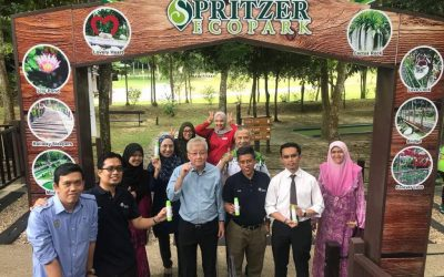 VISIT TO SPRITZER NATURAL MINERAL WATER BOTTLING PLANT IN AIR KUNING, TAIPING, PERAK