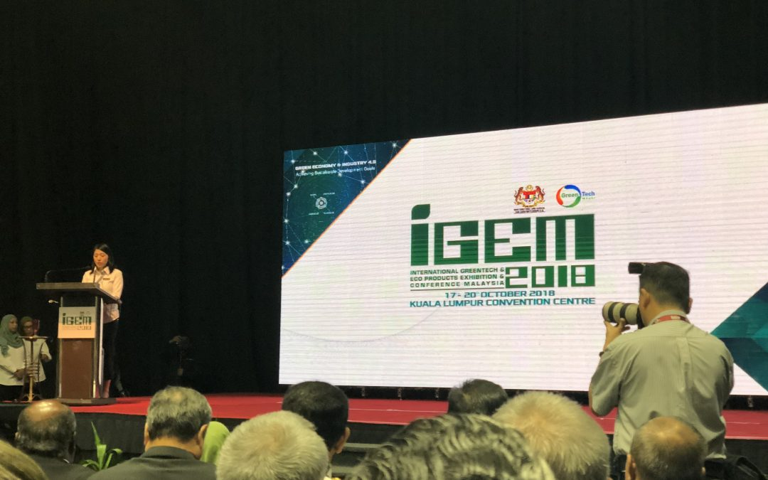 INTERNATIONAL GREENTECH & ECO PRODUCTS EXHIBITION & CONFERENCE MALAYSIA (IGEM) 2018