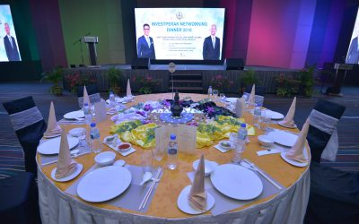 INVESTPERAK NETWORKING DINNER 2018